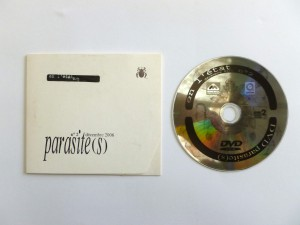 «Parasite(s)», dvd rom sous la direction de Pierre Braun, Denis Briand et Pascale Borrel, conception, réalisation Pierre Braun, éditions Présent composé & revue En l'état, Rennes, 2007
