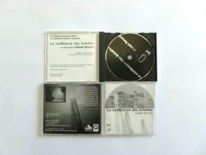 «La conférence des échelles», une intervention d'Hubert Renard, cd-rom, conception, réalisation Pierre Braun, coédition Incertain Sens et Présent composé, Rennes, 2003